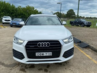 2015 Audi Q3 8U MY16 TFSI S Tronic Quattro Sport White 7 Speed Sports Automatic Dual Clutch Wagon.