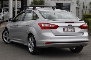 2014 Ford Focus LW MkII MY14 Titanium PwrShift Ingot Silver 6 Speed Sports Automatic Dual Clutch.