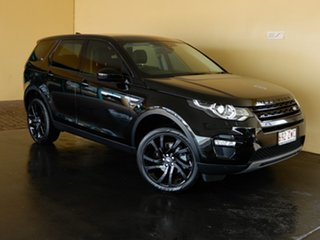 2017 Land Rover Discovery Sport L550 MY18 TD4 (110kW) HSE 5 Seat Black 9 Speed Automatic Wagon.