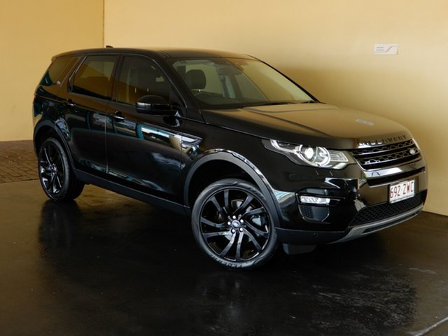 Used Land Rover Discovery Sport L550 MY18 TD4 (110kW) HSE 5 Seat Toowoomba, 2017 Land Rover Discovery Sport L550 MY18 TD4 (110kW) HSE 5 Seat Black 9 Speed Automatic Wagon