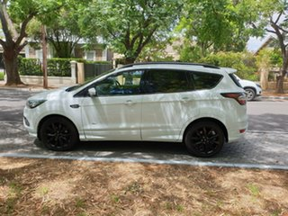 2018 Ford Escape ZG 2018.75MY ST-Line White 6 Speed Sports Automatic SUV