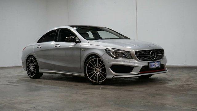 Used Mercedes-Benz CLA-Class C117 806MY CLA250 DCT 4MATIC Sport Welshpool, 2015 Mercedes-Benz CLA-Class C117 806MY CLA250 DCT 4MATIC Sport Silver 7 Speed