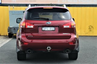 2010 Subaru Tribeca B9 MY10 R AWD Premium Pack Burgundy & Red 5 Speed Sports Automatic Wagon