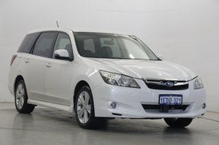 2012 Subaru Liberty B5 MY12 Exiga Lineartronic AWD Premium White 6 Speed Constant Variable Wagon