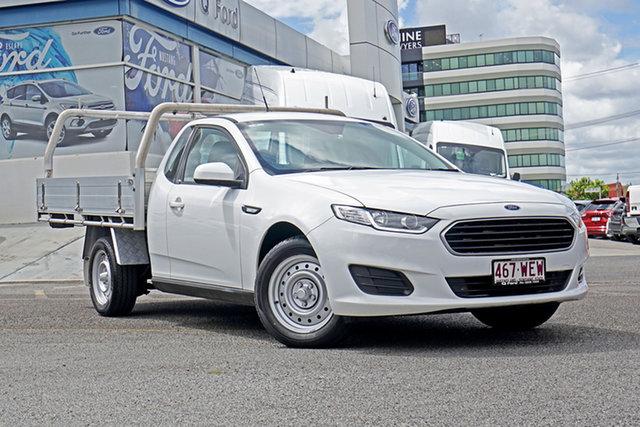 Used Ford Falcon FG X Ute Super Cab Springwood, 2016 Ford Falcon FG X Ute Super Cab White 6 Speed Sports Automatic Utility