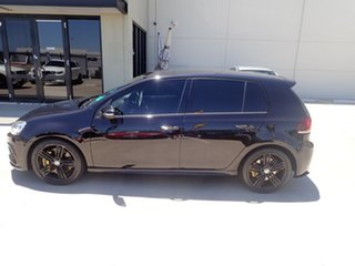 2012 Volkswagen Golf VI MY13 R DSG 4MOTION Metallic Black 6 Speed Sports Automatic Dual Clutch