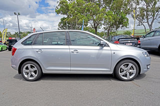 2014 Skoda Rapid NH MY14 Ambition Spaceback DSG Silver 7 Speed Sports Automatic Dual Clutch