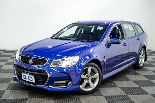 Used Holden Commodore VF II MY16 SV6 Sportwagon Edgewater, 2016 Holden Commodore VF II MY16 SV6 Sportwagon Blue 6 Speed Sports Automatic Wagon