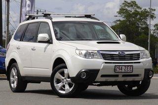 2010 Subaru Forester S3 MY10 XT AWD Satin White Pearl 4 Speed Sports Automatic Wagon.