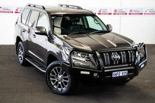 2018 Toyota Landcruiser Prado GDJ150R Kakadu Graphite 6 Speed Sports Automatic Wagon.