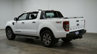 2017 Ford Ranger PX MkII 2018.00MY Wildtrak Double Cab White 6 Speed Sports Automatic Utility.