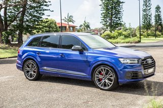 2016 Audi SQ7 4M MY17 TDI Tiptronic Blue 8 Speed Sports Automatic Wagon.