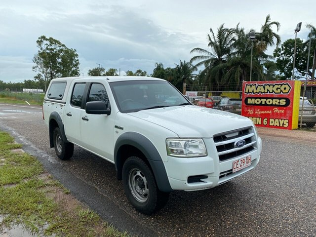 Used Ford Ranger PJ XL Crew Cab 4x2 Hi-Rider Pinelands, 2008 Ford Ranger PJ XL Crew Cab 4x2 Hi-Rider White 5 Speed Manual Utility