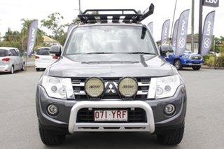 2014 Mitsubishi Pajero NW MY14 VR-X Graphite 5 Speed Sports Automatic Wagon