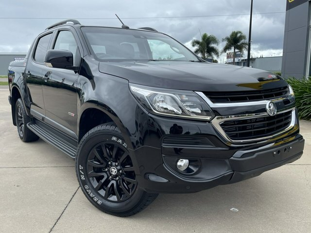 Used Holden Colorado RG MY19 Z71 Pickup Crew Cab Townsville, 2018 Holden Colorado RG MY19 Z71 Pickup Crew Cab Black 6 Speed Sports Automatic Utility