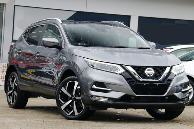 Used Nissan Qashqai J11 Series 2 Ti X-tronic Homebush, 2019 Nissan Qashqai J11 Series 2 Ti X-tronic Grey 1 Speed Constant Variable Wagon