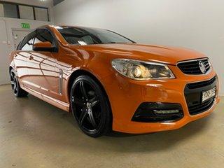 2014 Holden Commodore VF SV6 Orange 6 Speed Automatic Sedan.