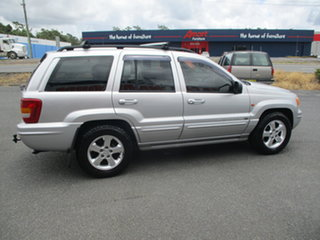 2004 Jeep Grand Cherokee WG Overland (4x4) Silver 5 Speed Automatic Wagon.