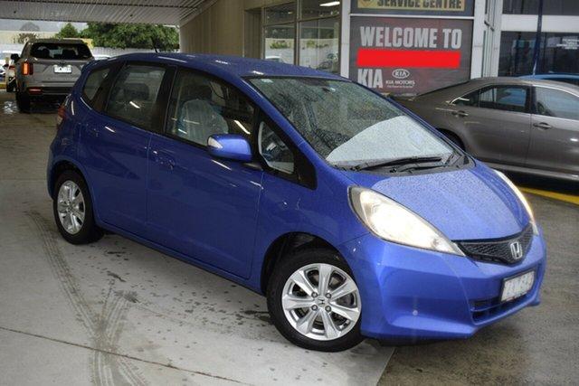 Used Honda Jazz GE MY12 Vibe Ferntree Gully, 2012 Honda Jazz GE MY12 Vibe Blue 5 Speed Automatic Hatchback
