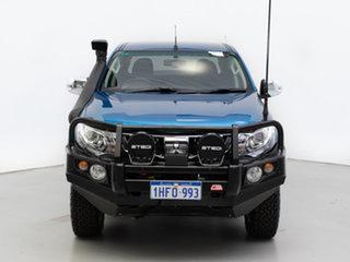 2017 Mitsubishi Triton MQ MY17 GLS (4x4) Blue 6 Speed Manual Dual Cab Utility.