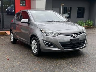 2013 Hyundai i20 PB MY13 Active Metallic Grey 4 Speed Automatic Hatchback