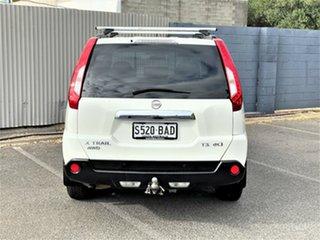 2013 Nissan X-Trail T31 Series V TS White 6 Speed Manual Wagon