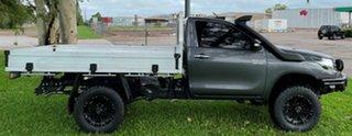 2016 Toyota Hilux GUN126R SR Grey 6 Speed Manual Cab Chassis.