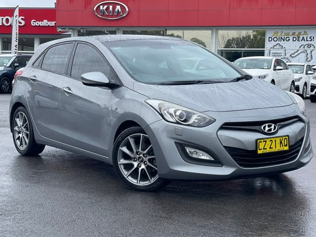Used Hyundai i30 GD MY14 SR Goulburn, 2014 Hyundai i30 GD MY14 SR Grey 6 Speed Sports Automatic Hatchback