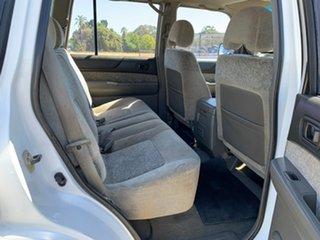 1999 Nissan Patrol GU ST (4x4) White 4 Speed Automatic 4x4 Wagon