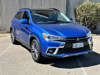 2017 Mitsubishi ASX XC MY17 XLS Blue 6 Speed Sports Automatic Wagon