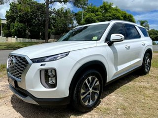 2020 Hyundai Palisade LX2.V1 MY21 2WD White Cream 8 Speed Sports Automatic Wagon.