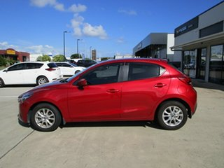 2014 Mazda 2 DJ2HAA Maxx SKYACTIV-Drive Soul Red 6 Speed Sports Automatic Hatchback