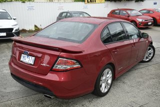 2011 Ford Falcon FG XR6 Maroon 6 Speed Sports Automatic Sedan
