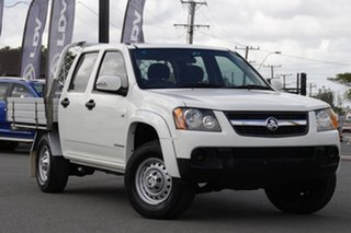 2010 Holden Colorado RC MY10 LX Crew Cab 4x2 Summit White 4 Speed Automatic Utility.