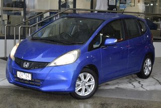 2012 Honda Jazz GE MY12 Vibe Blue 5 Speed Automatic Hatchback.