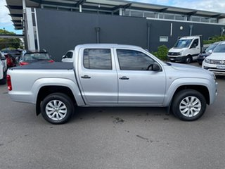 2015 Volkswagen Amarok 2H MY15 TDI400 4Mot Silver 6 Speed Manual Utility.