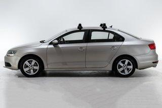 2013 Volkswagen Jetta 1B MY13.5 118TSI DSG Comfortline Silver 7 Speed Sports Automatic Dual Clutch