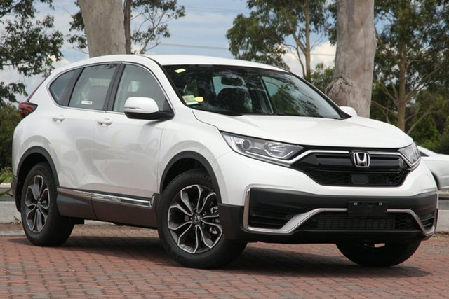 New Honda CR-V RW MY21 VTi 4WD L AWD Hobart, 2020 Honda CR-V RW MY21 VTi 4WD L AWD Platinum White 1 Speed Constant Variable Wagon