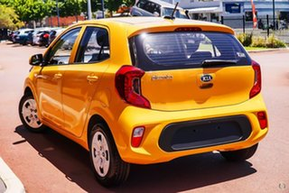 2020 Kia Picanto JA MY21 S Yellow 4 Speed Automatic Hatchback
