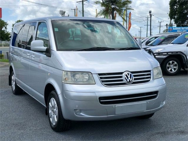 Used Volkswagen Caravelle T5 Archerfield, 2008 Volkswagen Caravelle T5 Silver 6 Speed Sports Automatic Wagon
