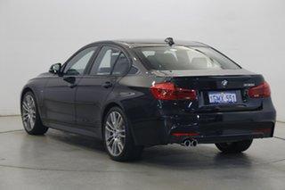 2018 BMW 3 Series F30 LCI 330i M Sport Black 8 Speed Sports Automatic Sedan