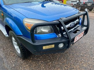 2011 Ford Ranger PK XLT Crew Cab Blue 5 Speed Manual Utility.
