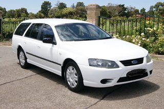 2009 Ford Falcon BF MkIII XT (LPG) White 4 Speed Auto Seq Sportshift Wagon.