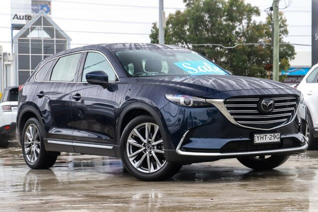 Used Mazda CX-9 TC Azami SKYACTIV-Drive Kirrawee, 2017 Mazda CX-9 TC Azami SKYACTIV-Drive Blue 6 Speed Sports Automatic Wagon