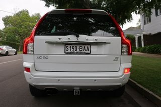 2013 Volvo XC90 P28 MY13 R-Design Geartronic White 6 Speed Sports Automatic Wagon