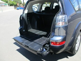 2007 Mitsubishi Outlander ZG MY07 LS Blue 6 Speed Constant Variable Wagon