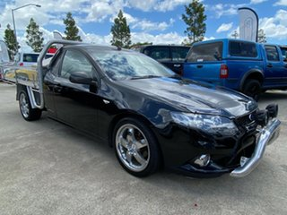 2009 Ford Falcon FG XR6 Super Cab Black 5 Speed Sports Automatic Cab Chassis.