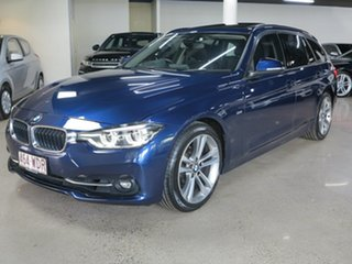 2015 BMW 3 Series F31 MY1114 320i Touring Sport Line Mediterraneanblue 8 Speed Sports Automatic.