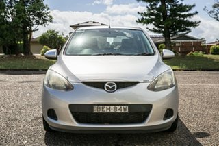 2007 Mazda 2 DE10Y1 Maxx Silver 4 Speed Automatic Hatchback.