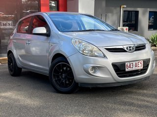 2012 Hyundai i20 PB MY12 Active Metallic Silver 4 Speed Automatic Hatchback.